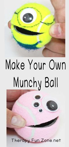 Making it Fun With Munchy Ball