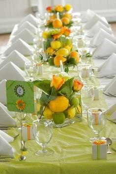 Summer Citrus Wedding Wedding Favors Photos on WeddingWire @Sheena Birt Birt Birt Birt Bales