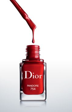 Dior Vernis Couture Effet Gel Collection for Spring 2014 – Beauty Trends and Latest Makeup Collections Tattoo Photography, Makeup Photography, Product Photography, Red Nail Polish, Latest Makeup, Advertising Photography, White Aesthetic, Shades Of Red, Makeup Collection