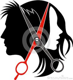 Illustration about Illustration art of salon concept logo on isolated background. Barber Logo, Barber Shop, Hair Salon Logos, Barbershop Design, Beauty Salon Decor, Salon Design, Beauty Shop, Tribal Tattoos, Hairdresser