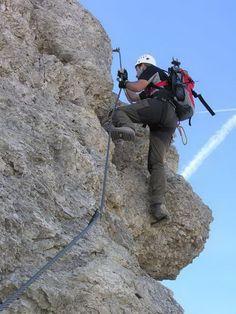 Klettersteig auf die kleine Cirspitze (Grödnertal)