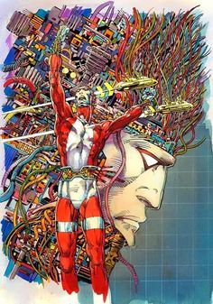Cap'n's Comics: Machine Man by Barry Smith