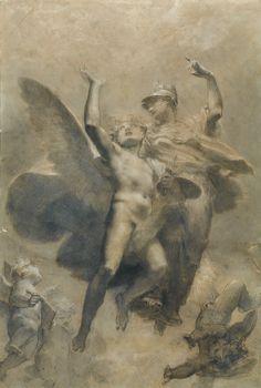 Pierre-Paul Prud'hon co corsé | alegórica | pf1309lot6vyqnfr de Sotheby
