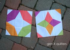 Gen X Quilters - Quilt Inspiration | Quilting Tutorials & Patterns | Connect: Vice Versa Block of the Month Club - August