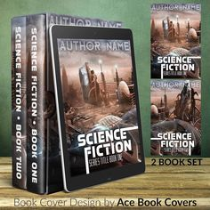 I have to confess that science fiction is one of my favorite genres. Are you a science fiction author? Check out this 2 book set of premade book covers!   http://ift.tt/2krNlVA  #bookcoverdesign #ebookcoverdesign #kindlebookcoverdesign #bookcoverdesigner #bookcoverdesigns #premadebookcover #premadeebookcovers #author #authorlife #publishing #publisher #selfpub #selfpublish #selfpublishing #selfpublisher #writing #writers #Indie #IndieAuthor #IndiePub #sciencefictionauthor #amwritingscifi…