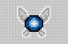 Legend of Zelda Navi Pixel Art Kawaii Disney, Art Kawaii, Lego Disney, Art Disney, Link Pixel Art, Pixel Art Grid, Pixel Pattern, Pattern Art, Pixel Art Wallpaper