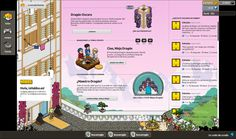 Background of Habbo Hotel (client page) Ninjas campaing