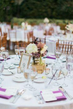 Photo:  Jeremy Chou Photography - wedding centerpiece idea
