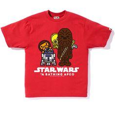 3b1e1f1f bape x star wars Movie Shirts, Popular Movies, Bape, Star Wars, Tees