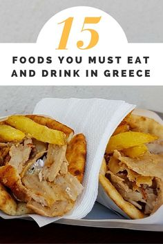 15 of the most popular foods you must eat and drink in Greece