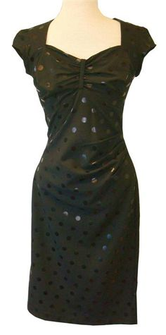 Curvy, Classic, Classy--PERFECT little black dress.