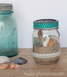 Beach-in-Jar Terrarium