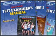 Financial Fitness for Life Test Examiner's Manuals | These personal finance assessments are ideal for pre-tests, post tests or an end of semester exam at all grade levels | MEDIA TYPE Print | GRADES 3-5, 6-8, 9-12 | SUBJECT Financial Literacy
