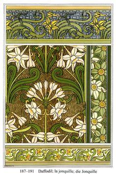 Grasset's Art Nouveau Floral Ornament