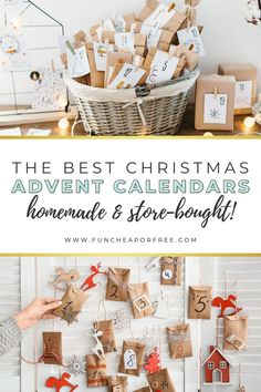If the holidays snuck up on you this year then you're in the right place! We've got the BEST advent calendars you can make (or buy) for kids — or even for yourself…after all, aren't we all just kids during the holidays?!