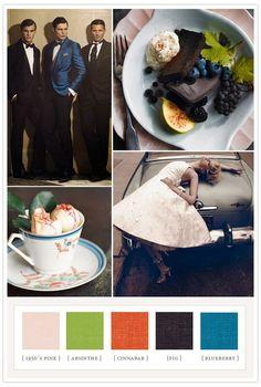 Colorboard #35 Dapper & Dandy | Colorboards | 100 Layer Cake