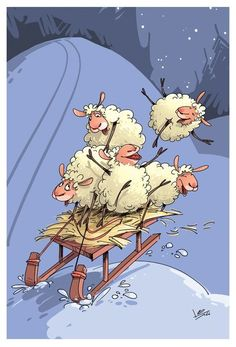cute drawings of animals Sheep Art, Sheep Wool, Sheep Illustration, Foto Picture, Baa Baa Black Sheep, Cute Sheep, Sheep And Lamb, Illustrations, Animal Drawings