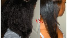 How I Flat Iron My Thick, 4C Natural Hair SLEEK and Straight Without DAMAGE