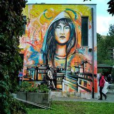 Alice Pasquini (2017) - Roma (Italy)