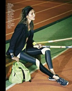 On track in Zadig & Voltaire and Adidas | Grazia France March 2013