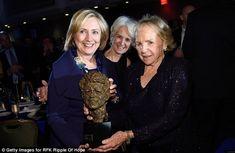 Hillary Clinton, Kathleen Kennedy Townsend and Ethel Kennedy