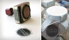 Beautiful identity design for a great new vintage kitchen store in Chicago: MARTYN GEORGE by Robert Efurd, via Behance
