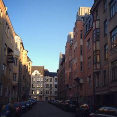 Helsinki art nouveau district