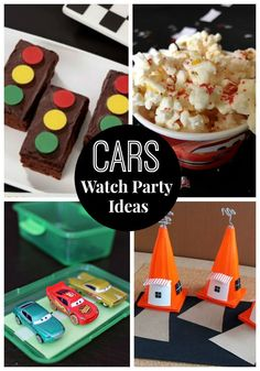 Cars 3 is now on Blu-Ray! What better way to celebrate than to host your own Cars Watch Party! Simple ideas to host a family movie night. - DIY and Crafts Movie Night For Kids, Family Movie Night, Family Movies, It's Your Birthday, Birthday Parties, Disney Cars, Disney Travel, Disney Movies, Walt Disney