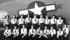 WASPs: Women Airforce Service Pilots. Served in WWII from 1942 to 1944. Did not get WWII vet status until 1977. Did not get the right to be buried in flag-draped coffins until 2000.