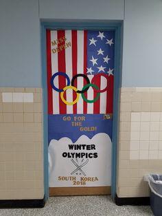 #classroom #door #olympics #february #winter #sports #teacher