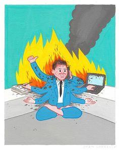 Les gens du web et le burnout : ouvrons le dialogue ! — Burnout : rallumons la flamme ! — Medium