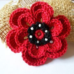 kytičky   Návody na háčkované hračky Crochet Flowers, Crochet Earrings, Projects To Try, Elsa, Jewelry, Felting, Baby, Ideas, Ribbon Bows