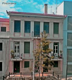 Neoclassical, Athens, Greece, Restoration, Architecture, House Styles, Places, Modern, Photography