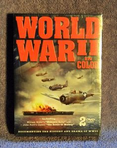 WWII-in-Color-DVD-2008-2-Disc-Set-Brand-New