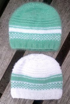 knit green baby hat fuzzy green hat mohair by UniqueKnitDesign