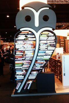 bookpatrol: What a hoot!An owl bookshelf