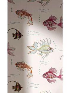 Tapet Perroquet Aquarium