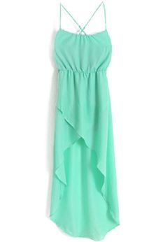 Mint high low Dress- yes please!