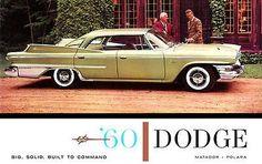 1960 Dodge Polara - Promotional Advertising Poster