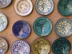 Stylistic Moroccan Art In Ceramic Pottery