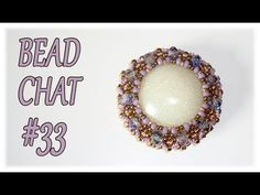 (7) Bead Chat #33 - Beaded pendants, mylon threads and a RAW creation - YouTube