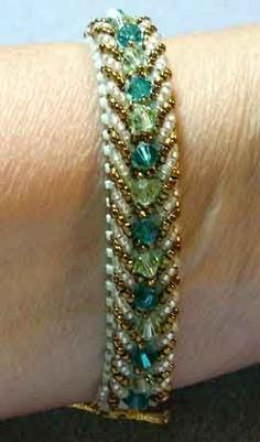 free beaded bracelet patterns | Beaded Bracelet Patterns