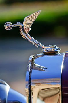 1927 Isotta-Fraschini Tipo 8A Boat-Tail Tourer Hood Ornament