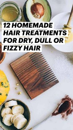 Clean Beauty, Diy Beauty, Fizzy Hair, Diy Cosmetic, Homemade Hair Treatments, Hair And Makeup Tips, Headspace, Hair Repair, Shiny Hair