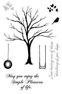 Impression Obsession Clear Stamp Set, Solid Tree