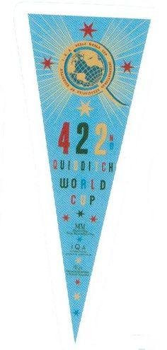 Quidditch World Cup Banner