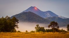 Llaima Volcano Eruption - Araucanía, Chile  Photography: Francisco Negroni