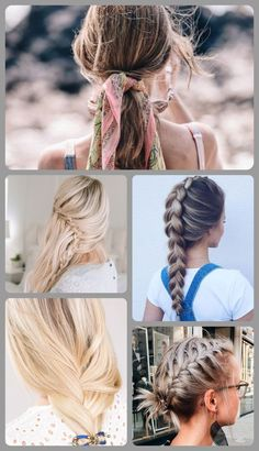 Summer is here, so you better be ready for high temperatures and hot days! Check out some of these easy summer hairstyles that will keep you feel fresh even on the hottest days. Romantic Hairstyles, Easy Hairstyles For Long Hair, Pretty Hairstyles, Loose Braids, Summer Diy, Hair Looks, Ponytail, Fashion Beauty, Short Hair Styles
