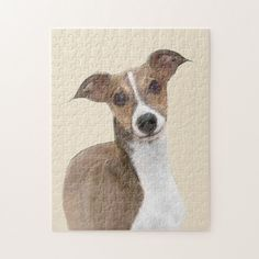 Shop Italian Greyhound Painting - Cute Original Dog Art Jigsaw Puzzle created by alpendesigns. Personalize it with photos & text or purchase as is! Greyhound Italiano, Italian Greyhound Dog, Original Paintings, Original Art, Ball Drawing, Grey Hound Dog, Dog Portraits, Dog Art, Jigsaw Puzzles