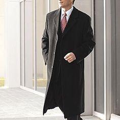Stafford Wool Blend Coat Long black or Charcoal men's sizes 38, 40, 42 NEW  89.99 http://www.ebay.com/itm/Stafford-Wool-Blend-Coat-Long-black-Charcoal-mens-sizes-38-40-42-NEW-/330561628828?pt=US_CSA_MC_Outerwear&var=&hash=item7dbc9fc05e